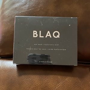 Blaq Activated Charcoal Under Eye Masks NEW